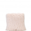 wholesale Cushions & Blankets: Pillows Jarule faux fur, L45cm, B45cm, pink